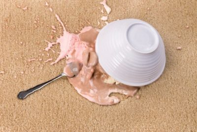 Remove Ice Cream Stains from your Carpet