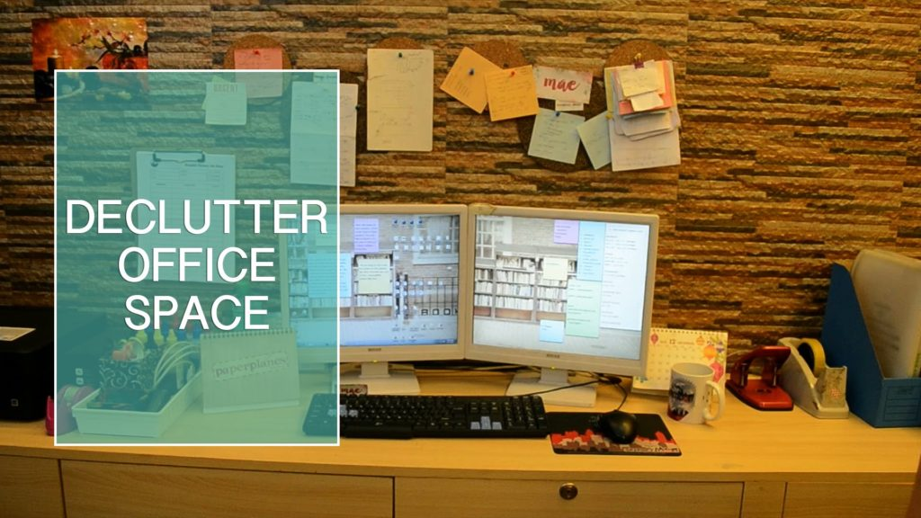 Declutter Workspace With These 5 Office Cleaning Hacks