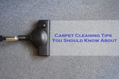 Carpet cleaning tips you should know about