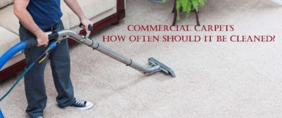Commercial Carpets - How Often should it be Cleaned?