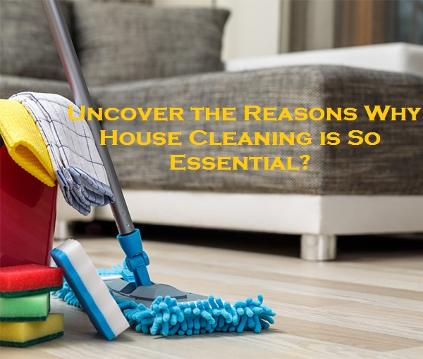Uncover the Reasons Why House Cleaning is So Essential?