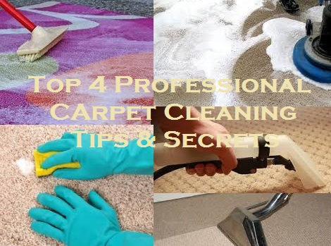 Top 4 Professional Carpet Cleaning Tips And Secrets