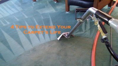 4 Tips to Extend Your Carpet's Life