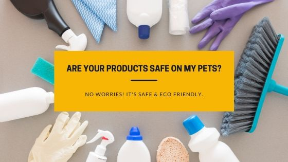 Are your products safe on my pets_