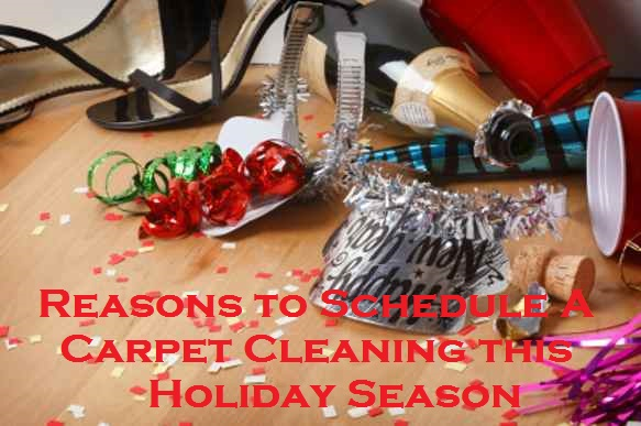 Reasons to Schedule A Carpet Cleaning this Holiday Season
