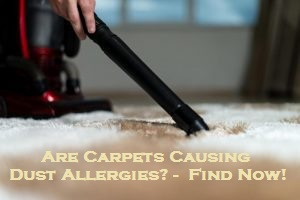 Are Carpets Causing Dust Allergies? - Find Now!