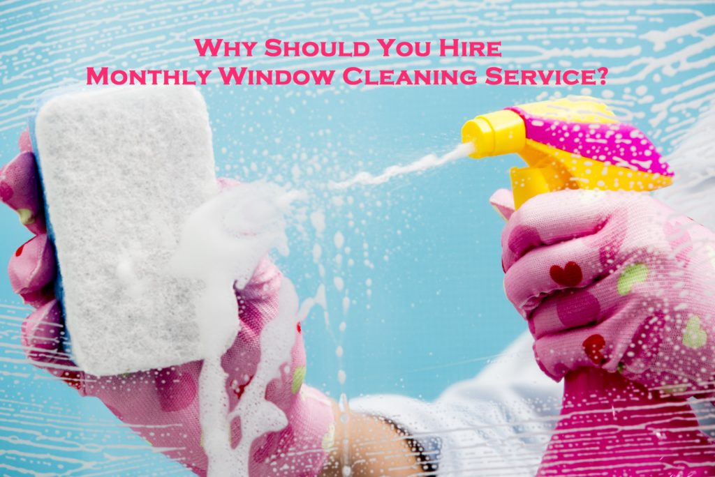 Why Should You Hire Monthly Window Cleaning Service?