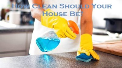 How Clean Should Your House Be?