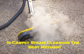 Is Carpet Steam Cleaning The Best Method?