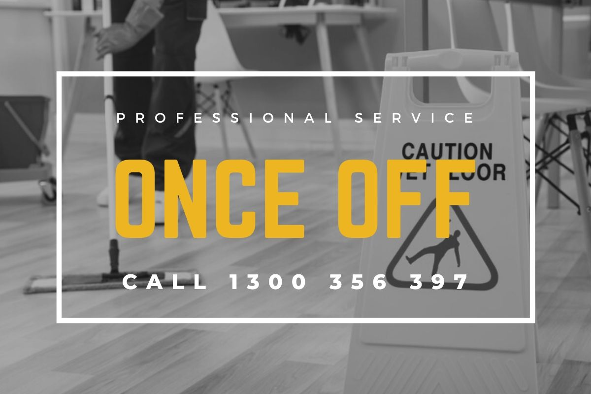 Once Off Commercial Cleaning
