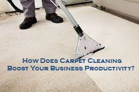 How Does Carpet Cleaning Boost Your Business's Productivity?